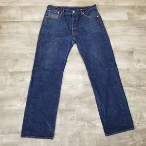 Levi's 501 button fly jeans size 36 waist
